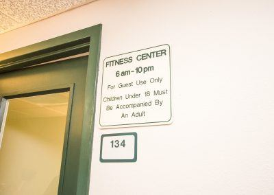 Fitness Room Hours Open From 6am to 10pm