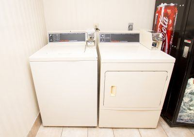 Washers and Dryers Available